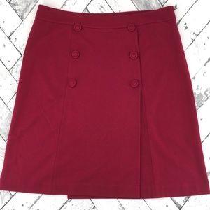 Talbot double botton skirt